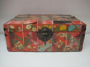 A Vintage Korean Ox horn Wedding Chest or Accessory Box (Hwagak Haem)