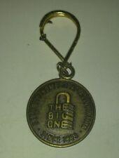 "Vintage THE BIG ONE Homestead Security Association 1.25"" Charm Token VG+ 4.5"