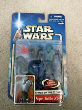 Star Wars Attack of the Clones Super Battle Droid NEW