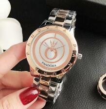 40mm Fashion Stainless Steel Wristwatch Quartz O- Women's Watch