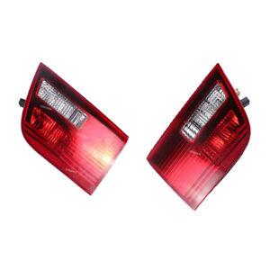 1 Pair Tail Light Lamp Left + Right Side Inner For 2004 2005 2006 BMW E53 X5