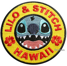 Disney Lilo & Stitch Hawaii Embroidered IRON ON Patch Badge Loungefly NWT