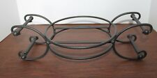 Longaberger Wrought Iron Caddy - Reversible Serving Bowl Stand