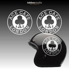 2 Pegatinas Ace Cafe London Racer moto Leatherboys Rocker bike stickers