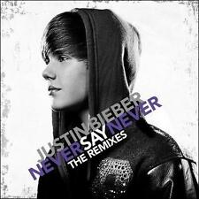 Never Say Never: The Remixes by Justin Bieber (CD, Feb-2011, Mercury)