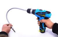 "Flexible Extension Screwdriver Drill Bit Shaft Bit Holder  1/4""Connecting Link"