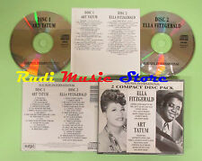 CD Ella Fitzgerald Art Tatum Box 2 CD Sonidos Internacional (Xs7) No LP Mc DVD