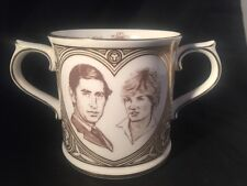 Royal Doulton Marriage Of Prince Wales Lady Diana Spence Loving Cup Limited Edit