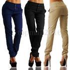 S-3XL ZANZEA Women Buttons High Waist Elegant Casual Long Pants Pencil Trousers