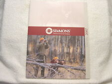 SIMMONS SCOPE OPTICS 2007 gun shooting catalog
