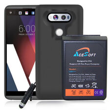 New 10900mAh Replacement Extended Battery + TPU Case f LG V20 VS995, H910, LS997
