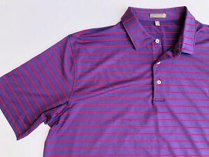 Men's Shirt PETER MILLAR size XXL short Sleeve Summer Comfort Polo Top NEW (th12