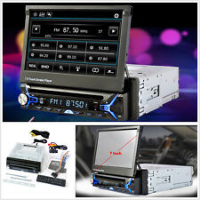 "7""HD Car Video DVD MP5 Player Bluetooth Touch Screen Stereo FM Radio+Rear Camera"