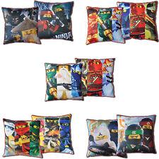 LEGO NINJAGO MOVIE Kissen Dekokissen beidseitig Pillow 40 x 40 CM