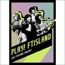 F.T Island - 2011 Live Concert (Play! Ftisland) (2DVD) New Sealed KPOP