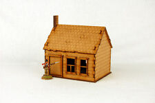 North American  HOUSE with STONE CHIMNEY #1 28mm Terrain M006