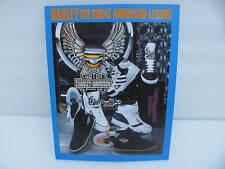 Harley Davidson Dealer Counter Display Sign The Great American Legend Shoes shoe