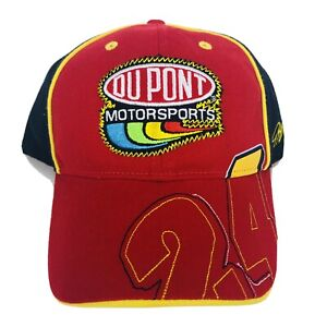 VTG Jeff Gordon Nascar #24 Hat Dupont Logo Chevy Cap New No Tags Chase