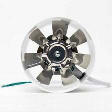 4inch Inline Ducting Fan Booster Exhaust Blower Air Cooling Vent Metal Fan 220V