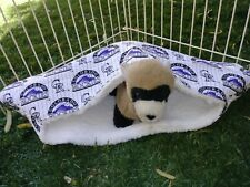 Ferret Luxury Sherpa Lined Corner Cubby - Colorado Rockies
