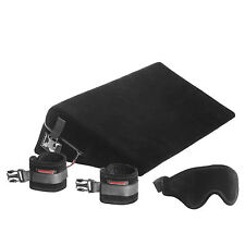 LIBERATOR BLACK LABEL WEDGE with Cuffs Restraints sex position furniture aid