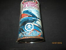 Rare Vintage Wynns Racing Snowmobile Gas Oil Additive Metal Can Unused