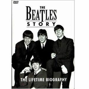 THE BEATLES The Beatles Story. The Lifetime Biography DVD . john lennon paul