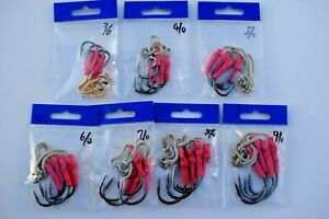 Assist Hooks Black Nickel For Knife Jig- 3/0,4/0,5/0,6/0,7/0,8/0,9/0