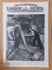 WWII ILLUSTRATED LONDON NEWS - DECEMBER 22nd 1945 - AIRCRAFT PARTS MELTED DOWN