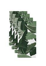 "Large Green Palms 18"" x 18"" Napkins 1 Dozen"