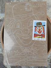 NUOVO Tavola Tavoletta legno compensato prestampata hobby mod clown 1