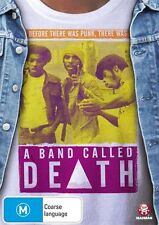 A Band Called Death (DVD, 2014) Brand new sealed free post!