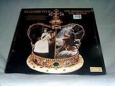 Elizabeth II The Woman & Queen '77 Argo BBC Tape Excerpts UK Sealed LP + Bklt