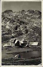 Gotthard Schweiz Tessin ~1920/30 Partie Hospiz Klinik Panorama Berge Alpen