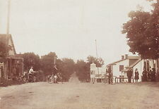 EARLY VINTAGE BICYCLES ~ CANADIAN TOWN SCENE ~ C - 1900
