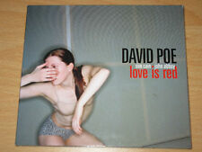 David Poe - Love Is Red