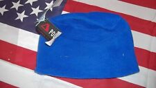 toddler fleece hat beanie cap blue NEW polartec USA