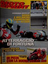 Motosprint 30 2002 In pista nuova Ducati 999. Biaggi rischia il posto in Yamaha