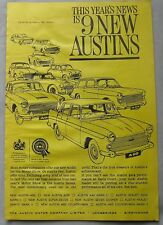 1961 Austin range Original advert