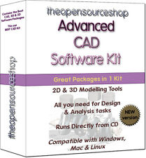 Advanced CAD 3D & 2D Engineering Production Design Software Kit