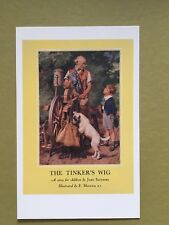 Vintage Ladybird Classics Book Cover The Tinkers Wig Story Postcard New