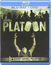 Platoon Dvd + Blu-ray Charlie Sheen Movie Tom Berenger 1986 Oliver Stone