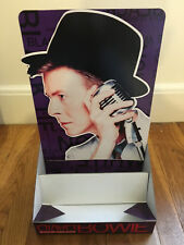 1993 David Bowie Promo 3D Stand Up Counter Display Prop Black Tie Noise Sealed