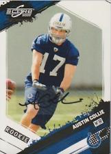 Austin Collie 2009 Score Inscriptions autograph auto card 310 /599
