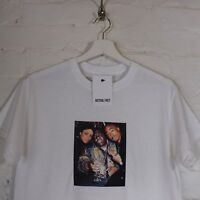 Biggie Tupac Aaliyah RIP White Tee Hip Hop R&B Tee T-shirt Top by Actual Fact