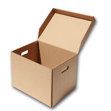 Storage Boxes - Hinged Lid. 400 x 325 x 254mm (15.75 x 12.75 x 10ins)