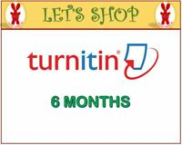 Turnitin Student Account Unlimited Word (6 MONTHS)- Plagiarism Checker ONLY