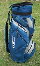 Adams IDEA Women's Carry Golf Bag 6-Way Divider Blue/Silver-3 Nike Balls Ladies
