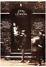 John Lennon POSTER *RARE* Rock N Roll Promo Ad *AMAZING IMAGE* the Beatles