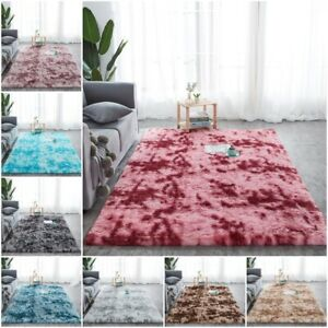 Non Slip Shaggy Rugs Super Soft Sparkle Plush Large Living Room Carpet Area Rug